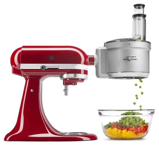 Food Processor with CommercialStyle Dicing Kit