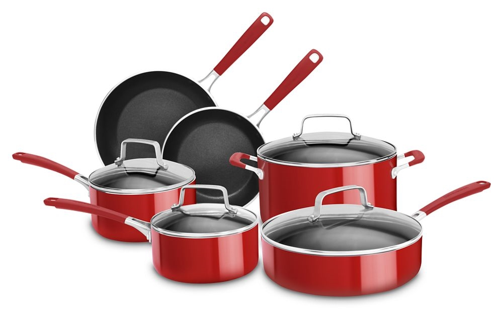 10 Piece Aluminum Nonstick Set