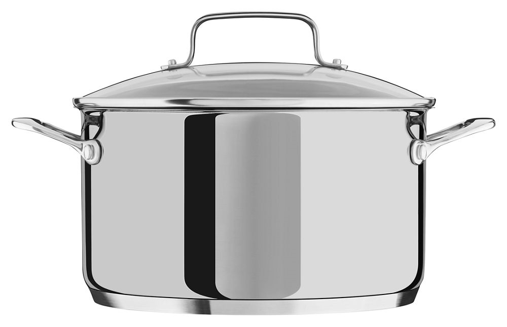 5.7 L Low Casserole With Lid