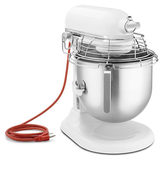 NSFCertified CommercialSeries 8 Quart Bowl-Lift Stand Mixer with Stainless Steel Bowl Guard
