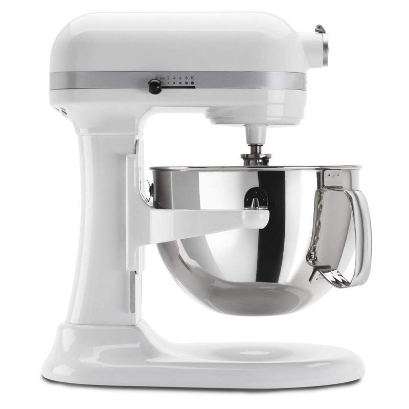 Professional 600 Series 6 Qt. White Stand Mixer