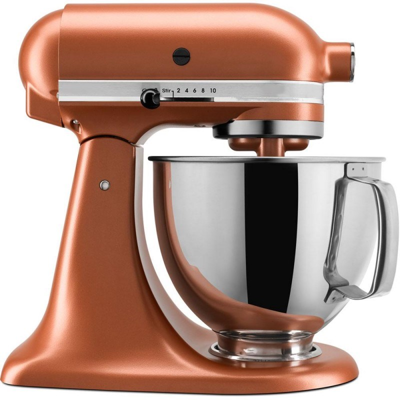 Artisan Series 5 Qt. Tilt-Back Head Stand Mixer in Copper Pearl